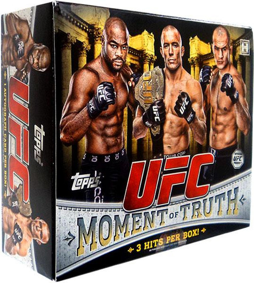 UFC 2011 Moment of Truth Trading Card Box