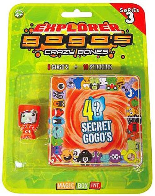 Crazy Bones Gogo's Series 3 Explorer Blister Pack