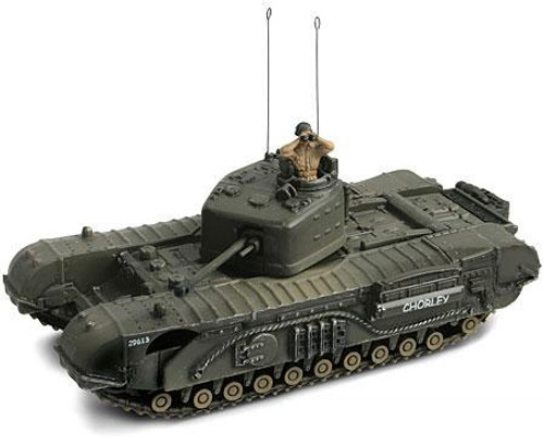 Forces of Valor s of Valor 1:72 D-Day Commemorative Series U.K. Infantry Tank MK. IV Churchill Mk. VII 1/7 [Normandy]