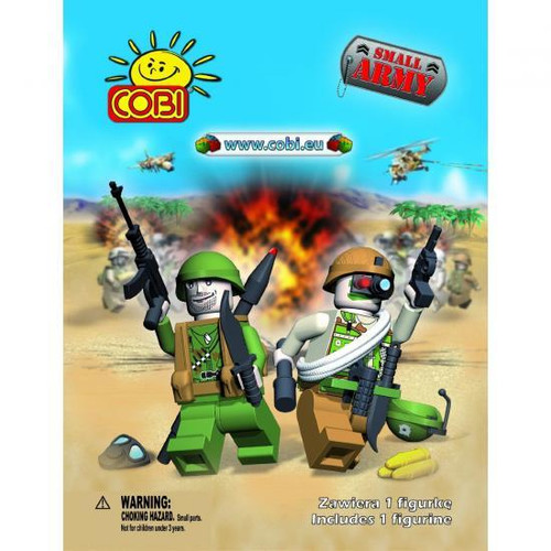Small Army COBI Blocks Series 1 Mystery Pack