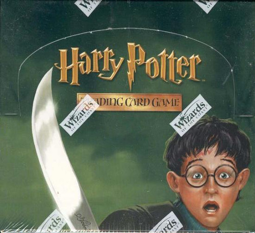 Harry Potter Trading Card Game Chamber of Secrets Booster Box