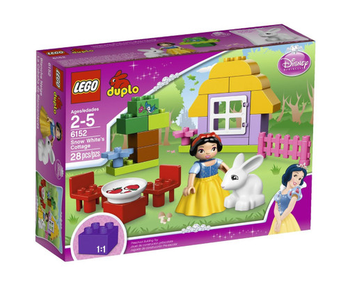 LEGO Duplo Disney Princess Snow White's Cottage Set #6152