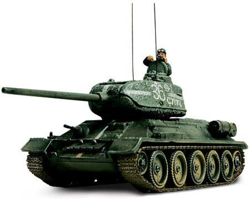 Forces of Valor s of Valor 1:72 Enthusiast Series Vehicles Russian T-34/85 1/7 [Eastern Front]
