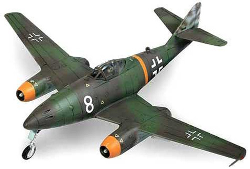 Forces of Valor s of Valor 1:72 Enthusiast Series Planes German Messerschmitt Me262 1/7 [Germany 1944]