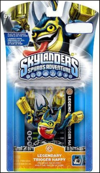 Skylanders Spyro's Adventure Legendary Trigger Happy Exclusive Figure Pack