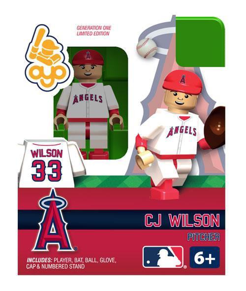 Los Angeles Angels MLB Generation One CJ Wilson Minifigure