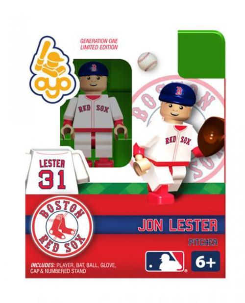 Boston Red Sox MLB Generation One Jon Lester Minifigure