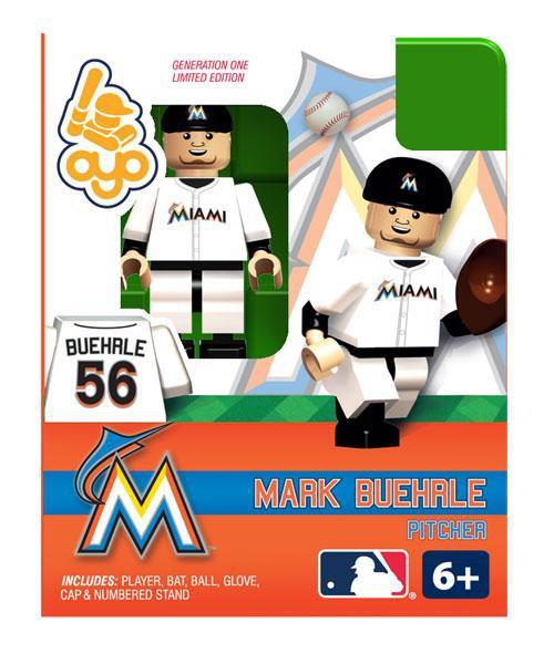 Miami Marlins MLB Generation One Mark Buehrle Minifigure