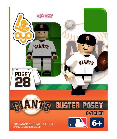 San Francisco Giants MLB Generation One Buster Posey Minifigure