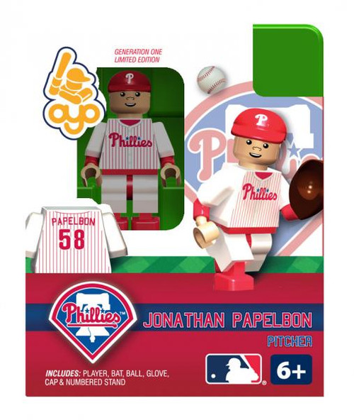 Philadelphia Phillies MLB Generation One Jonathan Papelbon Minifigure