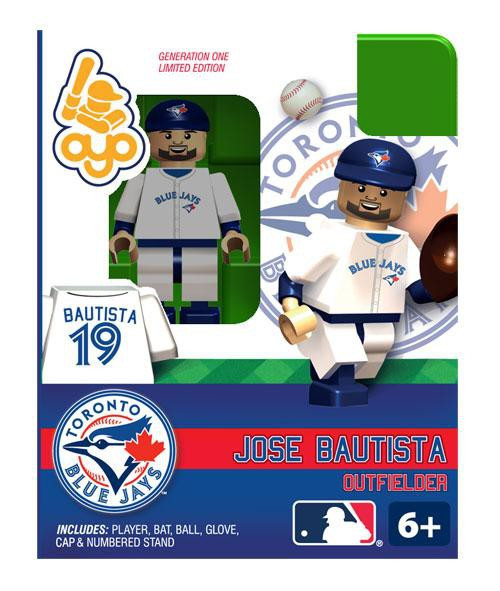 Toronto Blue Jays MLB Generation One Jose Bautista Minifigure