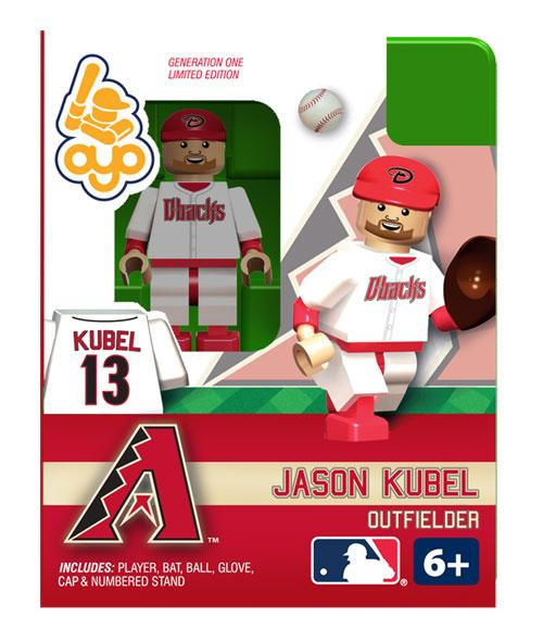 Arizona Diamondbacks MLB Generation One Jason Kubel Minifigure