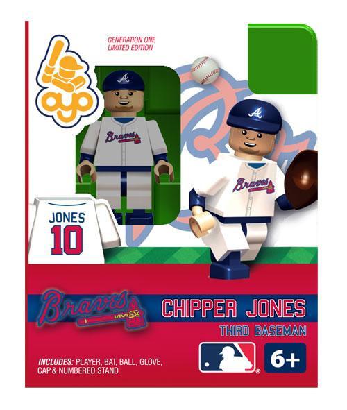 Atlanta Braves MLB Generation One Chipper Jones Minifigure