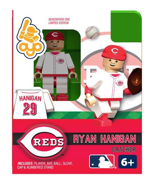 Cincinnati Reds MLB Generation One Ryan Hanigan Minifigure