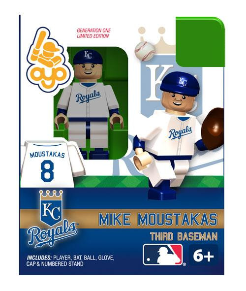 Kansas City Royals MLB Generation One Mike Moustakas Minifigure