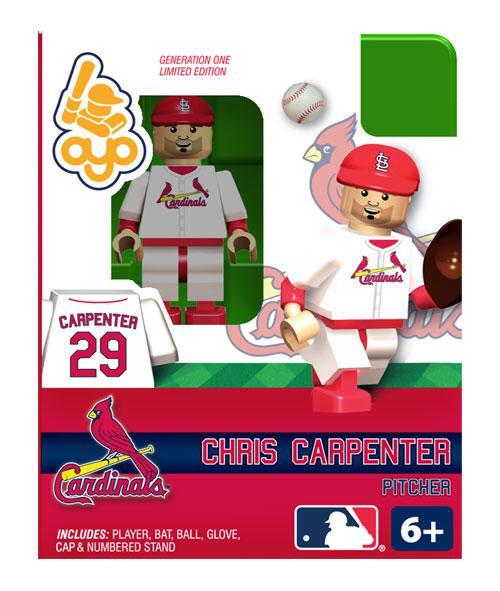 St. Louis Cardinals MLB Generation One Chris Carpenter Minifigure