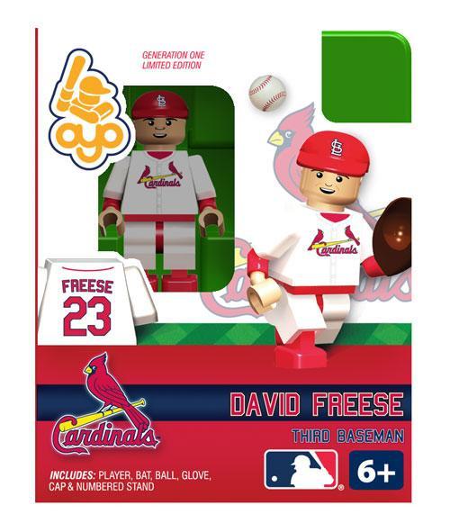 St. Louis Cardinals MLB Generation One David Freese Minifigure