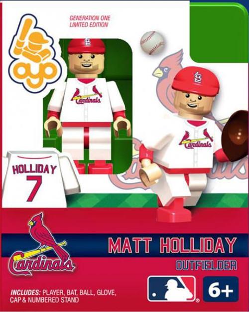 St. Louis Cardinals MLB Generation One Matt Holiday Minifigure