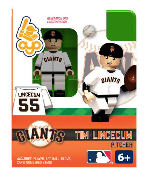 San Francisco Giants MLB Generation One Tim Lincecum Minifigure