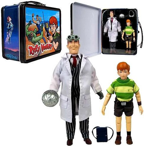 The Venture Bros. Lunchbox Tin Tote Rusty & Jones Sr. Action Figures Exclusive Action Figure Set