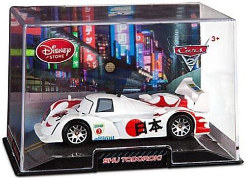 Disney Cars Cars 2 1:43 Collectors Case Shu Todoroki Exclusive Diecast Car