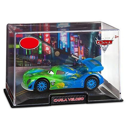 Disney Cars Cars 2 1:43 Collectors Case Carla Veloso Exclusive Diecast Car