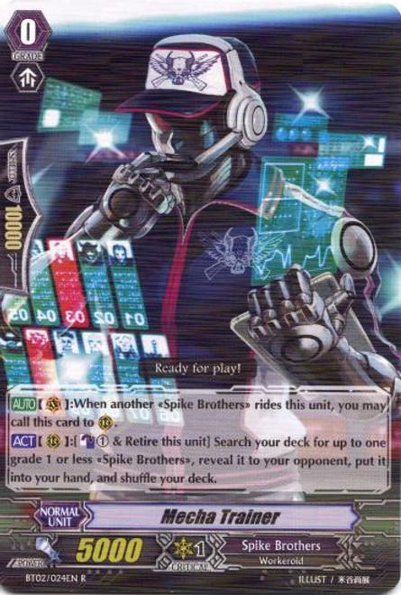 Cardfight Vanguard Onslaught of Dragon Souls Rare Mecha Trainer BT02-024