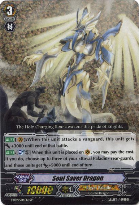 Cardfight Vanguard Onslaught of Dragon Souls SP Soul Saver Dragon BT02-S04