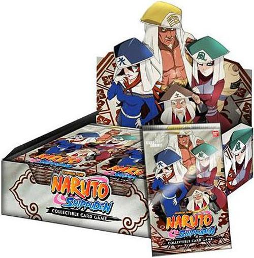Naruto Shippuden Card Game Kage Summit Booster Box