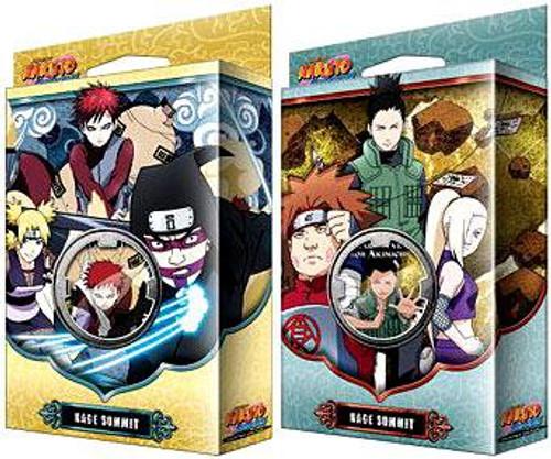 Naruto Shippuden Card Game Set of Both Kage Summit Theme Decks