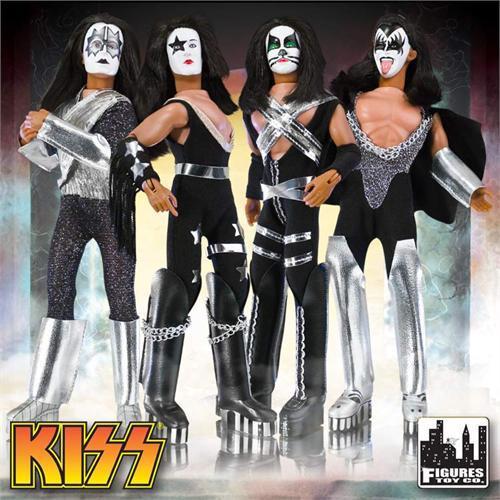 KISS Retro Series 1 Set of 4 Action Figures