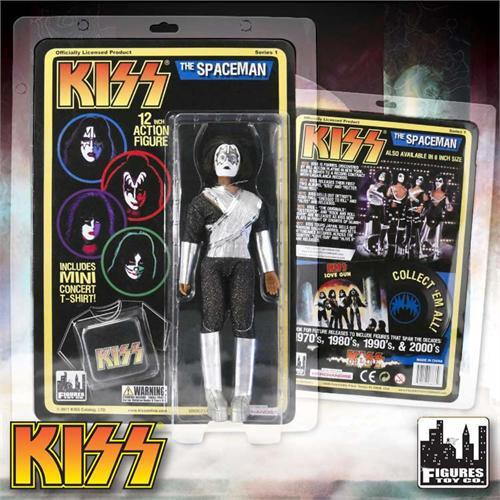 KISS Deluxe Series 1 The Spaceman 12 Inch Action Figure [Ace Frehley]