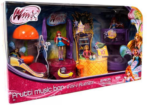 Winx Club Frutti Music Bar 3.75-Inch Playset