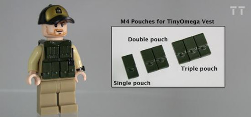 Tiny Tactical M4 Single Pouch [Dark Olive Green BK]