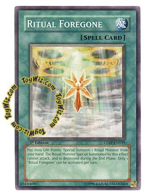 YuGiOh GX Cyberdark Impact Common Ritual Foregone CDIP-EN039