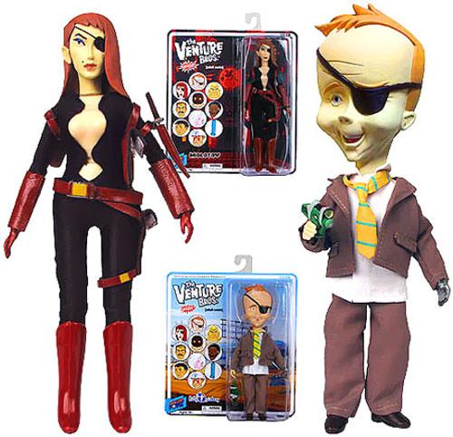 The Venture Bros. Series 7 Molotov & B. Quizboy Action Figures