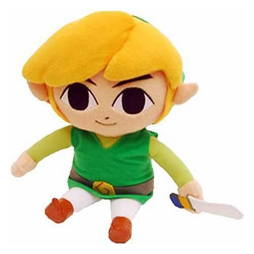 The Legend of Zelda Link Exclusive 6-Inch Plush [Wind Waker]