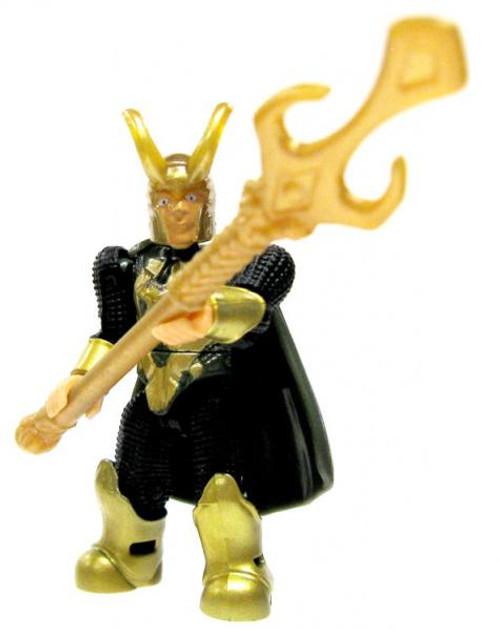 Mega Bloks Marvel Series 2 Loki Rare Minifigure [Loose]