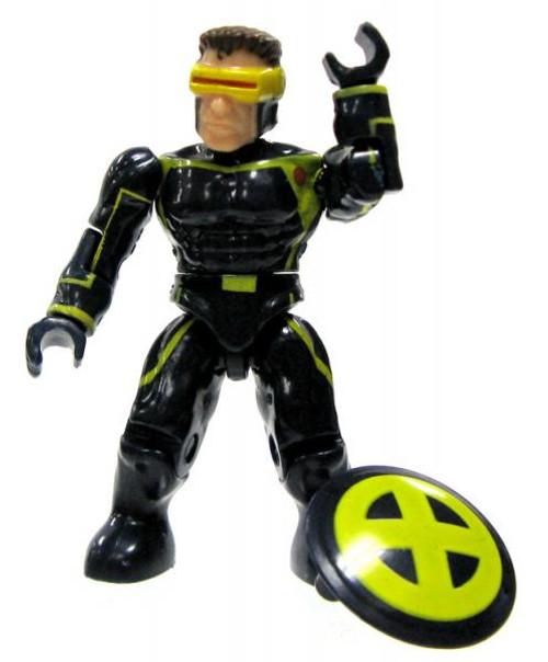 Mega Bloks Marvel Series 3 Cyclops Rare Minifigure [Loose]