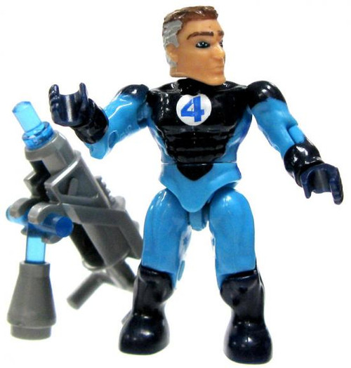 Mega Bloks Marvel Series 3 Mr. Fantastic Common Minifigure [Loose]