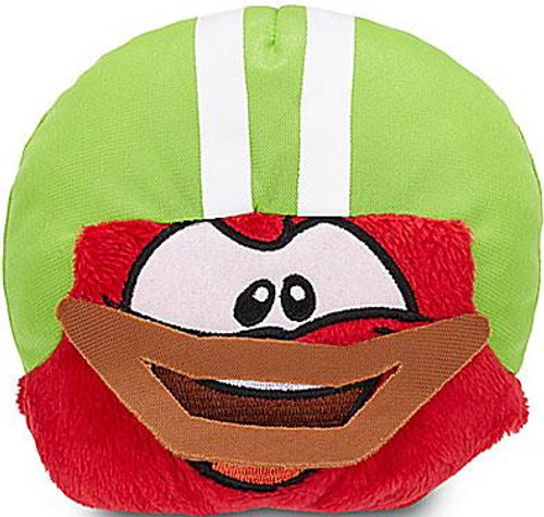 Club Penguin Series 13 Red Puffle 4-Inch Plush [Football Helmet]
