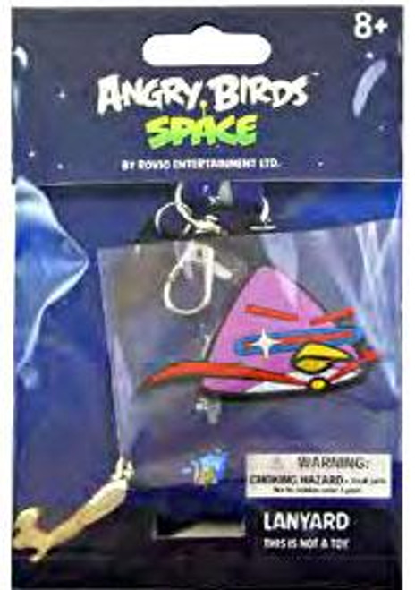 Angry Birds Space Lazer Bird Lanyard Keychain