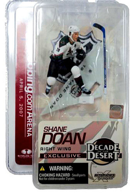 McFarlane Toys NHL Phoenix Coyotes Sports Picks Exclusive Shane Doan Exclusive 3-Inch Mini Figure