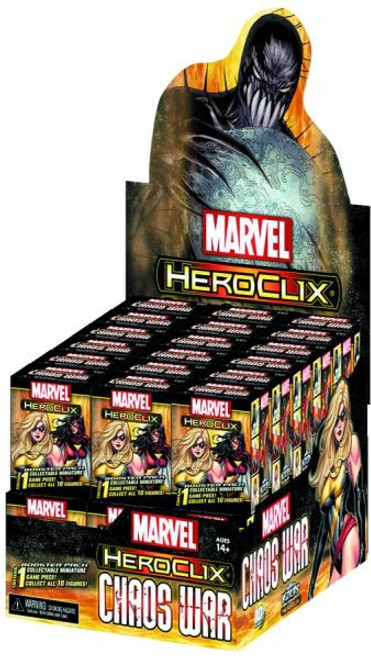 Marvel HeroClix Chaos War Gravity Feed Box