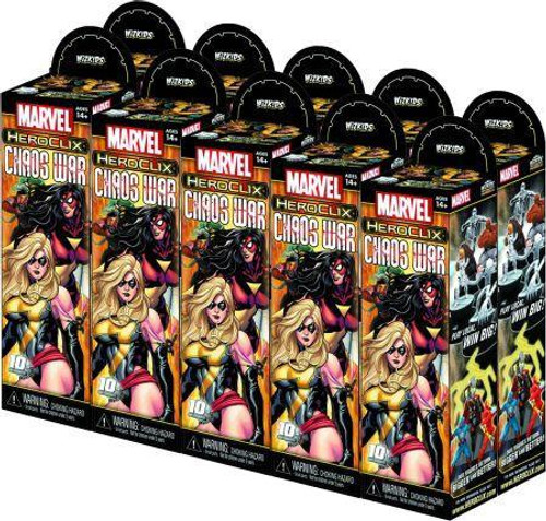 Marvel HeroClix Chaos War Booster Brick