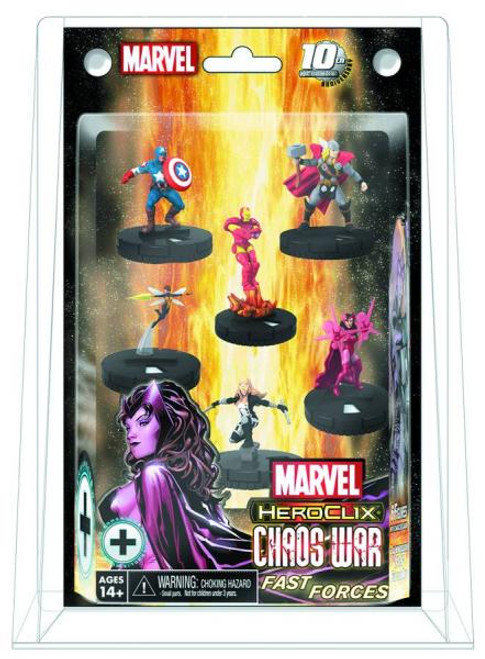 Marvel HeroClix Chaos War Fast Forces Figure Pack