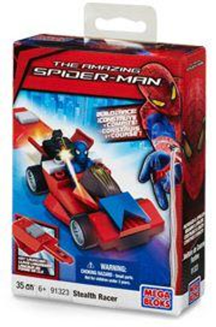 Mega Bloks Amazing Spider-Man Stealth Racer Set #91323