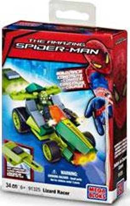 Mega Bloks Amazing Spider-Man Lizard Racer Set #91325