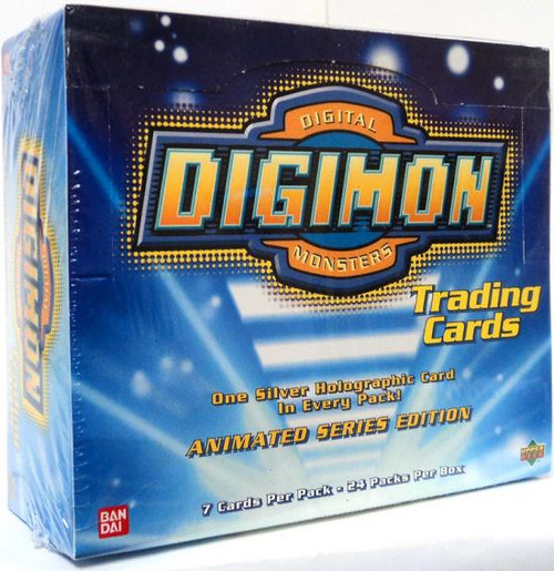 Digimon Animated Series 1 Trading Card Box