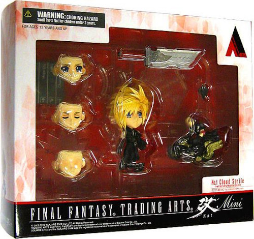 Final Fantasy Trading Arts Kai Cloud 3-Inch Mini Figure